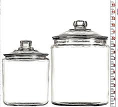 2 gallon glass jar with airtight lid 1 heritage hill two canister 2 gallon glass jar with airtight lid anchor hocking