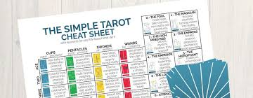 Tarot cards are not easy to read for everyone and you need. Free Printable Tarot Cheat Sheet Pdf