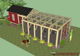 10x10 Chicken Coop Design Poultry Shed Plans How Build One Properly