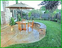 stamped concrete cost per square foot to install patio vs pavers co