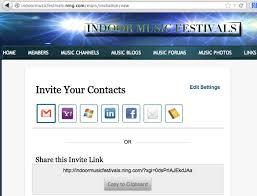 Create Your Invitation Create An Invitation Tab Ning 3 Help