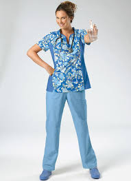 Scrub Top Patterns Extraordinary M48 Misses'Women's Scrubs Tops And Pants Sewing Pattern
