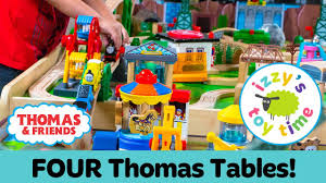thomas train giveaway and four table track challenge thomas and friends fun toy trains for kids