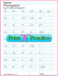 These lessons are excellent for teaching a combination of preschool and early kindergartener phonics skills. 44 Phonics Worksheets Practice Phonics Words Copywork