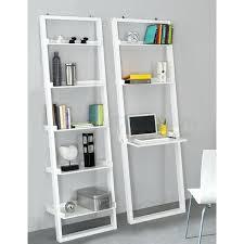 leaning desk with shelves crate and barrel leaning bookshelf desk