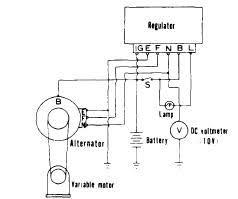 repair manuals toyota nippondenso 1963 74 alternator regulator relay warning lamp type test circuit