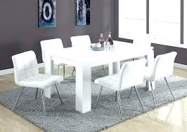 white dining table round ikea oval kitchen and chairs set for 6
