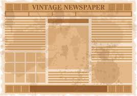 Vintage Newspaper Template Free Old Newspaper Free Vector Art 5881 Free Downloads Old Newspaper