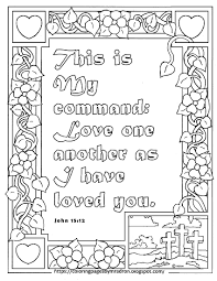 With this detailed flamingo color by number sheet, not only do kids get practice recognizing colors, they also practice identifying different color shades. Free John 15 12 Printable Coloring Page Love Coloring Pages Bible Verse Coloring Page John 15 12