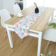 korean coffee table style cotton modern minimalist small fresh cabinet tablecloth art bed flag dining table