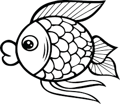 Fish Coloring Template Free Fish Coloring Pages Fish Coloring Pages