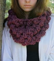 Cowl Crochet Pattern Cool Crochet PATTERN Chunky Crochet Cowl Pattern Rosebud Cowl
