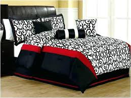 Red And Black Bedroom Red And Black Zebra Print Bedroom Ideas ...