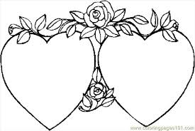 Small Picture Hearts 40 Coloring Page Free Valentines Day Coloring Pages