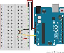 arduino analoginput circuit