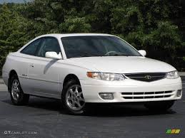 1999 White Diamond Pearl Toyota Solara SLE V6 Coupe #17266761 ...