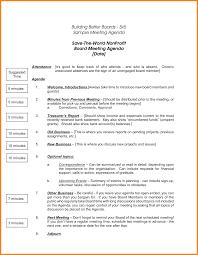 Meeting Minutes Agenda Template 24 Nonprofit Board Meeting Agenda Template Letter Format For 24
