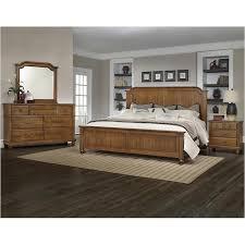 Antique - Cherry Finish Bedroom Set Vaughan Bassett Furniture