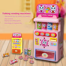 Vending Machine Toys Best New Talking Automatic Vendor Beverage Vending Machine Toy Fun Gift