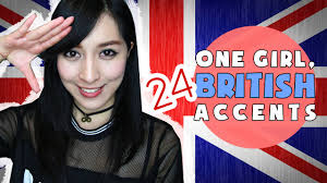 Asian girl with british accent