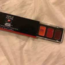 makeup forever make up artist rouge lip stick palette from