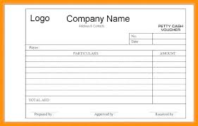 Blank Voucher Template Check Voucher Template Payment Gift Certificate Version