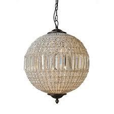 addison circular crystal bronze chandelier