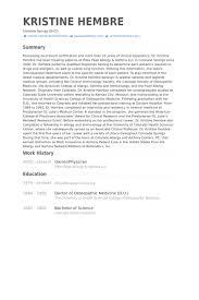 Owner Physician Resume Samples Visualcv Resume Samples Database