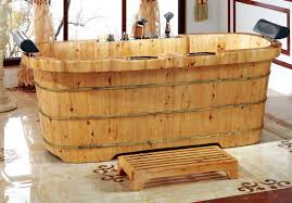 exelent cedar bathtub position bathroom ideas sundayholiday of alfi wooden bathtub
