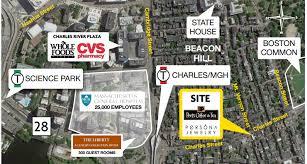 2016_09 boston 62 charles st aerial boston office space charles