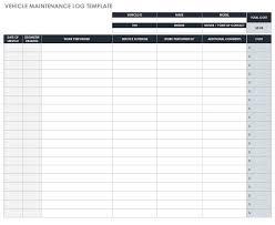 Free Mileage Log Templates Smartsheet