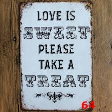 metal signs home decor