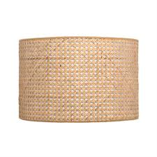 verve design rattan drum lamp shade
