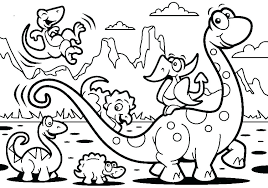 cartoon dinosaur coloring pages cartoon dinosaur coloring page stock ilration ilration of artwork nature printable