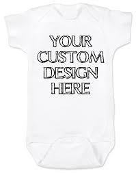 Make Your On Shirt Make Your Own Custom Baby Bodysuit