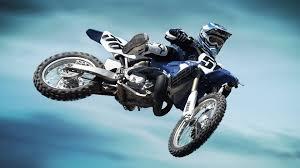 flaying yamaha motocross wallpaper