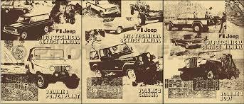 jeep j20 service manuals shop owner maintenance and repair faxon 1978 jeep shop manual reprint all models 3 volume set