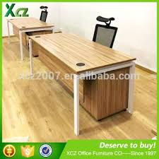 wooden office table. Small Executive Office Desks Commercial Wooden Luxury Desk With Movable Cabinet Table I