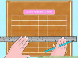 3 Ways To Make A Daily Schedule Chart For Toddlers Wikihow