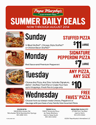 Papa Murphys Launches Summer Daily Deals Menifee 24 7