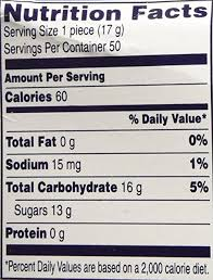 jolly rancher candy risk nutrition and dye content nutrition facts