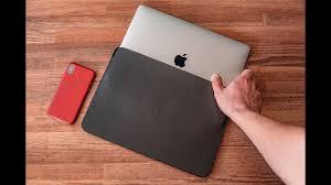 Обзор <b>Apple Leather Sleeve</b> для MacBook + лучшие <b>чехлы</b> ...
