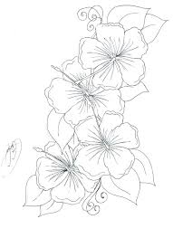 Printable Flower Coloring Pages Flower Coloring Pages Flowers Free