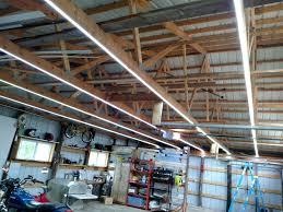 diy garage lighting. Inexpensive Garage Lights From LED Strips Diy Lighting