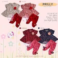 Bộ quần áo thời trang cho bé gái 6-18 tháng tuổi M2M