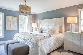 cool blue white bedroom designs