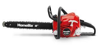 homelite chainsaw. 18in. 42cc chainsaw homelite