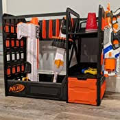 Get the full tutorial at: Amazon Com Nerf Elite Blaster Rack Storage For Up To Six Blasters Including Shelving And Drawers Accessories Orange And Black Amazon Exclusive Toys Games