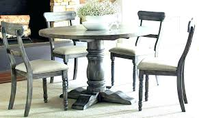 round dining table and 6 chairs room high top kitchen grey seater extendable round dining table and 6