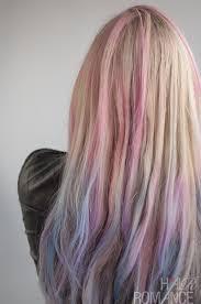 hair romance hair chalk temporary colour